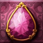 Perfect Gems video slot - Pink gem symbol