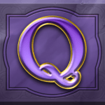 Perfect Gems video slot - Q symbol