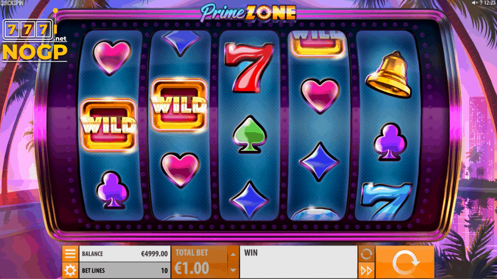 Prime Zone video slot screenshot