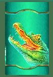 Raging Rhino Megaways slot - Crocodile symbol