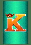 Raging Rhino Megaways slot - K symbol