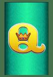Raging Rhino Megaways slot - Q symbol