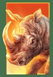 Raging Rhino Megaways slot - Rhino symbol