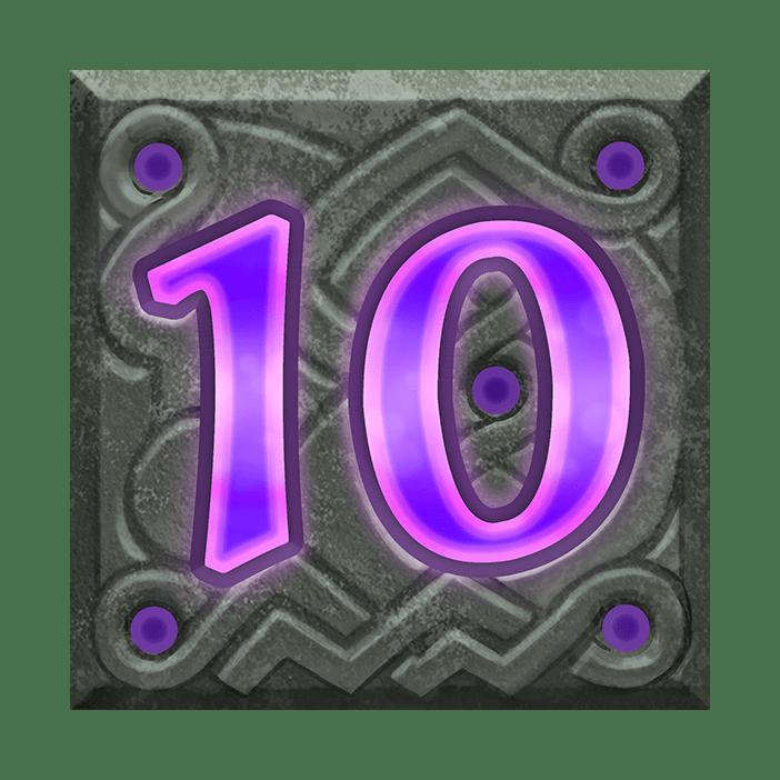 Raven's Eye video slot - 10 symbol
