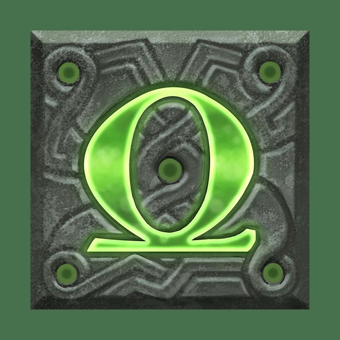 Ravens Eye video slot - Q symbol
