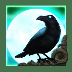 Raven's Eye scatter & mystery symbool