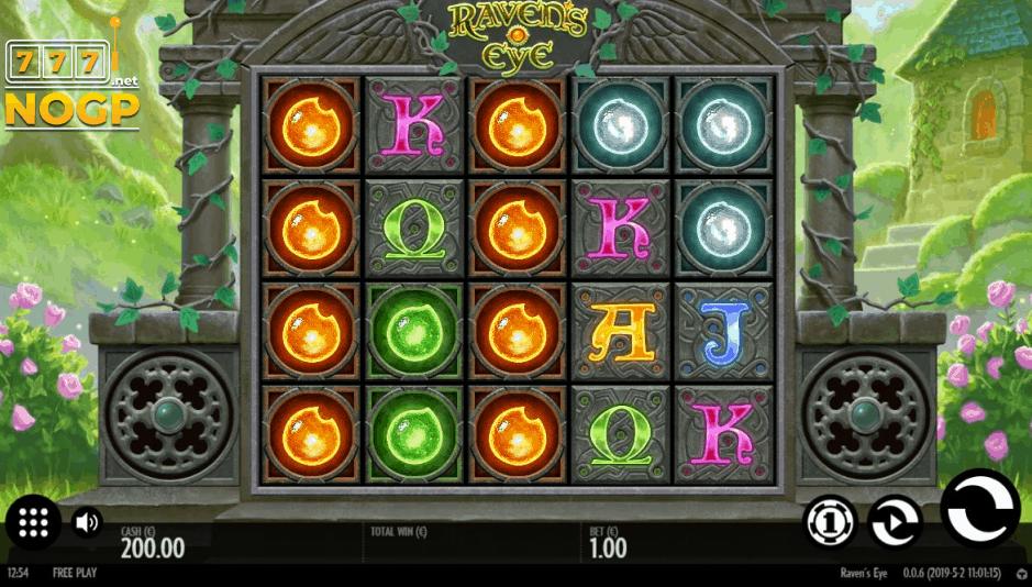 Raven's Eye video slot screenshot