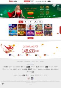 Redbox Casino screenshot