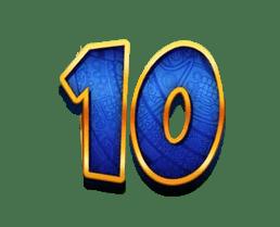 Return of Kong Megaways video slot - 10 symbol