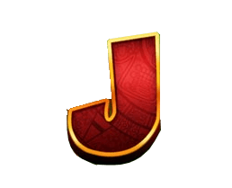 Return of Kong Megaways video slot - J symbol