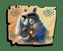 Return of Kong Megaways video slot - Rhino symbol