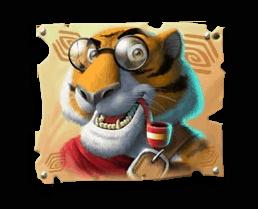 Return of Kong Megaways video slot - Tiger symbol