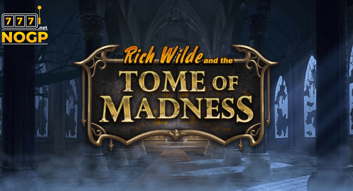 Rich Wilde and the Tome of Madness video slot van Play'n GO