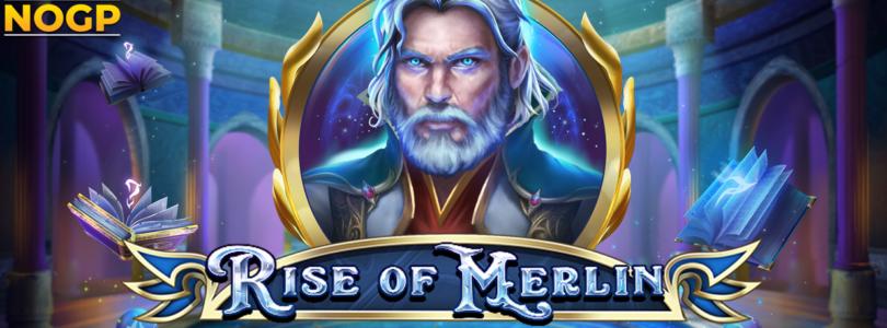 Rise of Merlin video slot logo