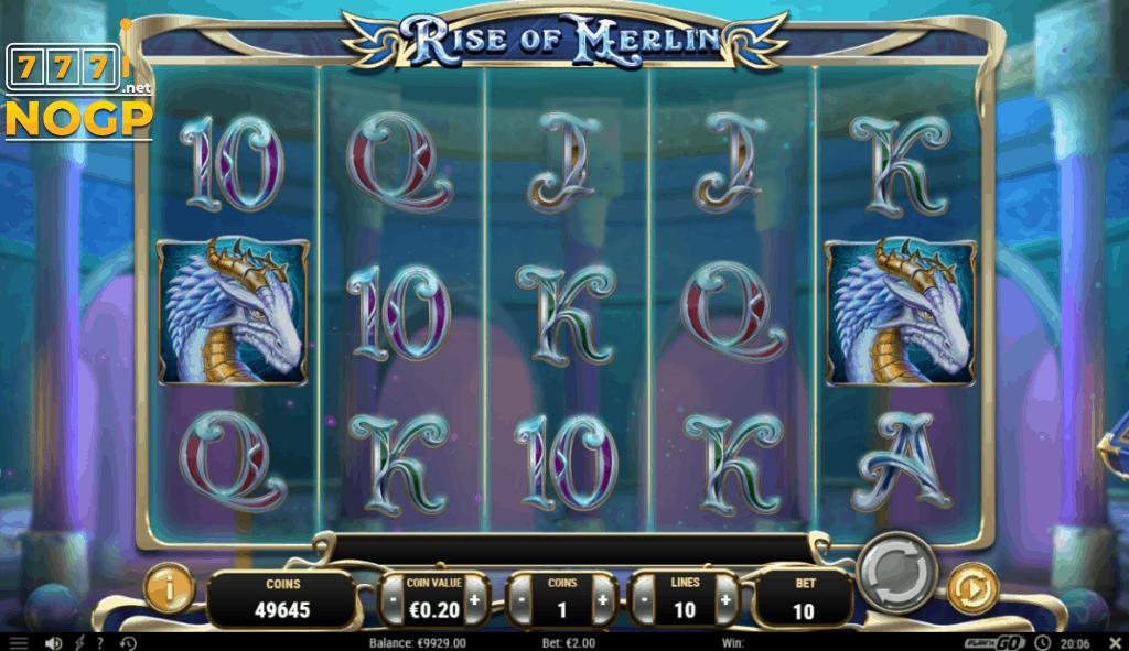 Rise of Merlin video slot