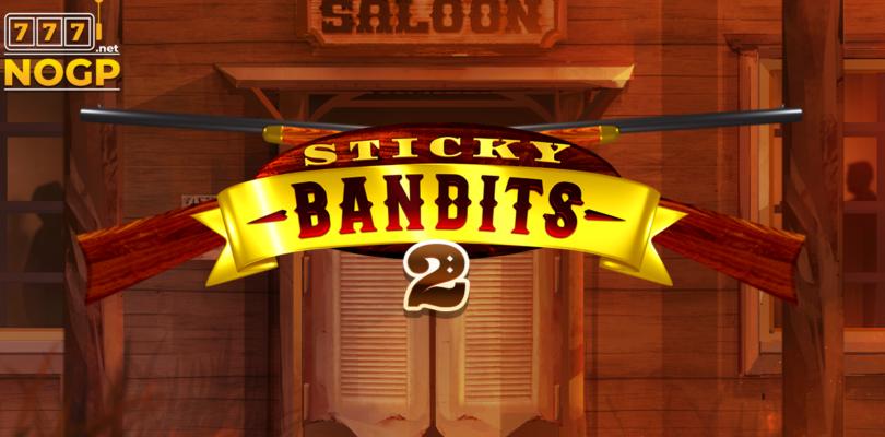 Sticky Bandits Wild Return video slot logo