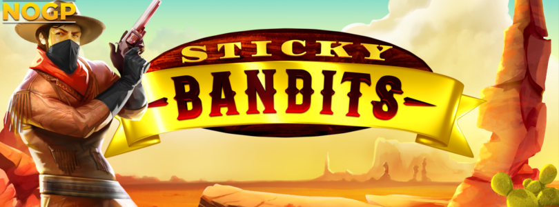 Sticky Bandits video slot logo