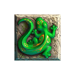 Tahiti Gold video slot - Lizard symbol