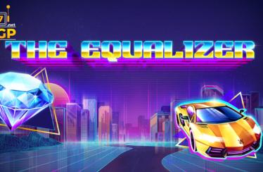 The Equalizer video slot logo