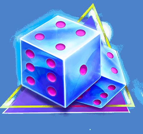 The Equalizer video slot - Dice symbol