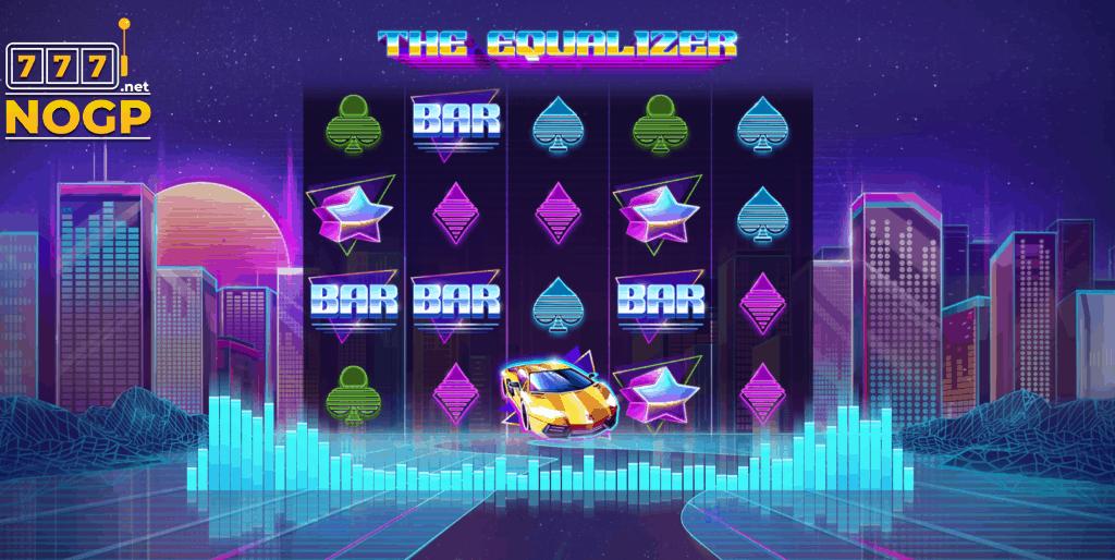 The Equalizer video slot - Screenshot