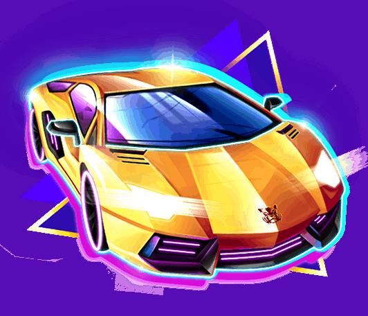 The Equalizer video slot - Sport car symbol