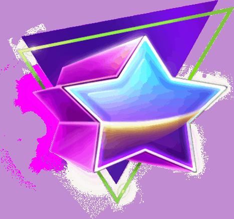 The Equalizer video slot - Star symbol