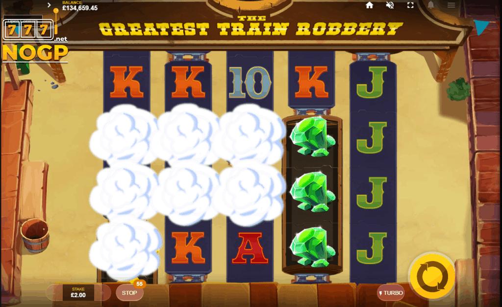 The Greatest Train Robbery video slot - Mystery Symbol