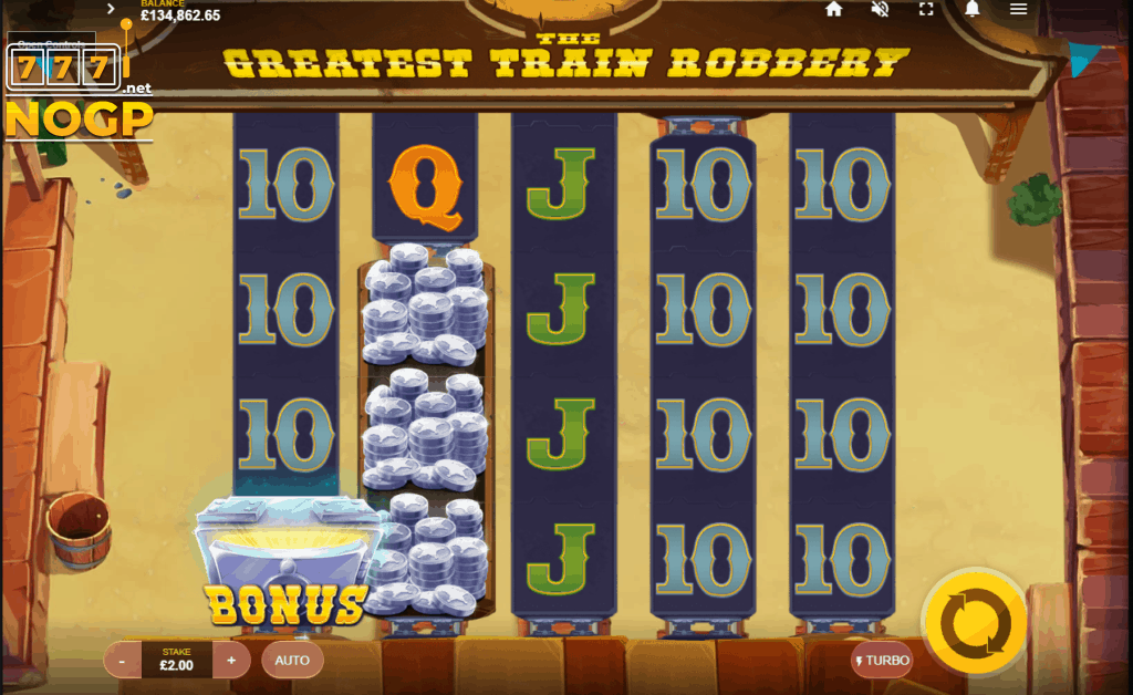 The Greatest Train Robbery screenshot