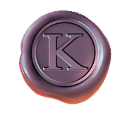 The Shadow Order video slot - K coin symbol