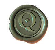 The Shadow Order video slot - Q coin symbol