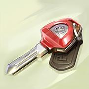 The Wild Chase video slot - Keys symbol