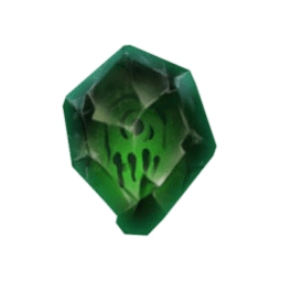 Tome of Madness video slot - Green Gem symbol