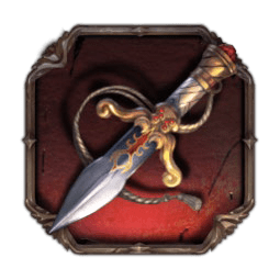 Tome of Madness video slot - Dagger pendant symbol