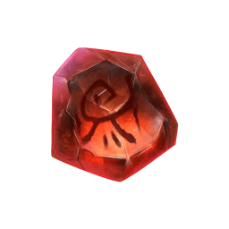 Tome of Madness video slot - Red Gem symbol
