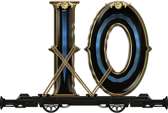Wild Rails video slot - 10 symbol