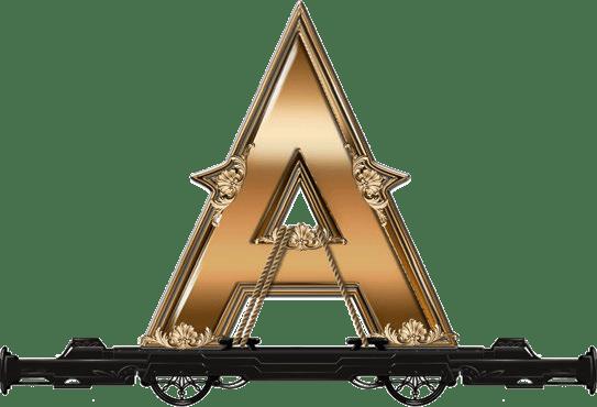 Wild Rails video slot - A symbol