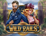 Wild Rails video slot logo