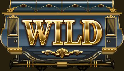 Wild Rails video slot - Wild symbol
