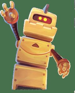 Wild Robo Factory - Wild symbool