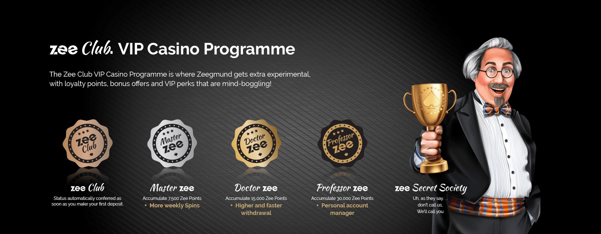 VIP Program Playzee Casino