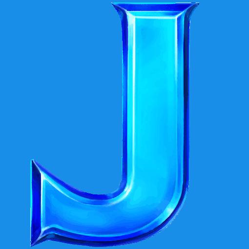 Cashomatic videoslot - J symbol