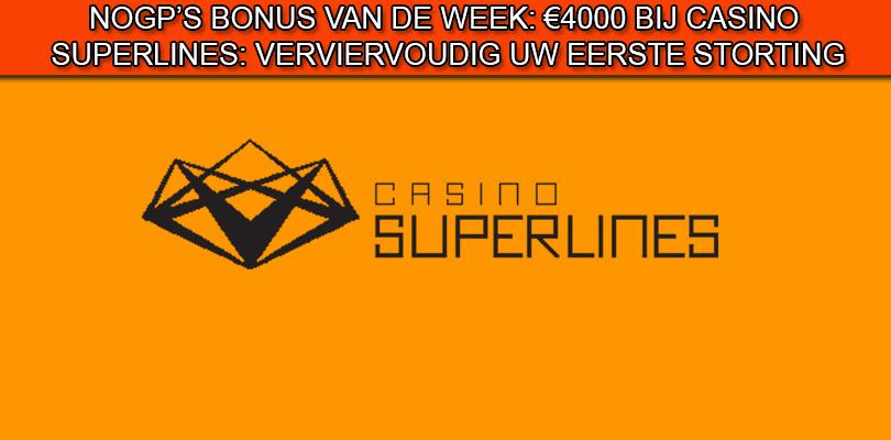 Casino Superlines bonus