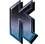 Demon video slot - K symbol