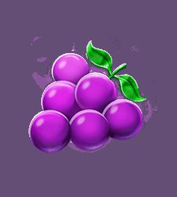 Five Star Power Reels video slot - Grapes symbol