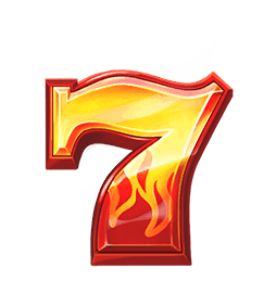 Five Star Power Reels video slot - Seven symbol