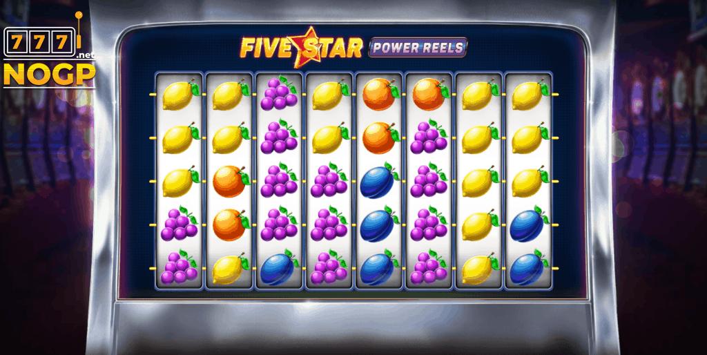 Five Star Power Reels video slot screenshot