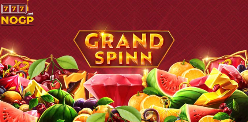 Grand Spinn video slot logo