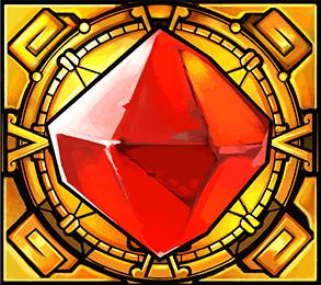 Jackpot Quest - Ruby Talisman symbol