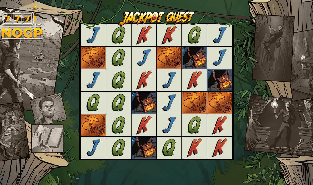 Jackpot Quest video slot screenshot